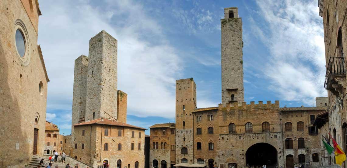 Noleggio con conducente San Gimignano